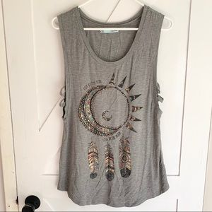 NWOT Maurices Graphic Tank Top